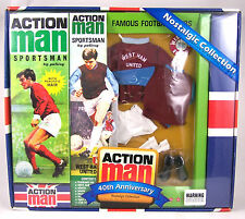 Action Man 40th Ann West Ham United  Footballer Set (Includes Figure)