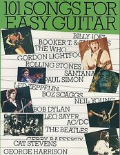 101 Songs For Easy Guitar Learn to Play Pop Rock Chords Music Book 4