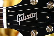FLYING V TRUSS ROD COVER for GIbson guitar (Black / Silver)