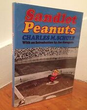 """CHARLES M. SCHULZ """"Sandlot Peanuts"""" (1977) SIGNED First Edition QUITE RARE"""