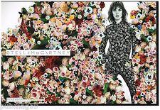Publicité Advertising 2012 (2 pages) Pret à porter Stella McCartney Vodianova
