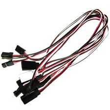 10 x 500mm Servo Male to Female Extension Wire Cable Lead JR Futaba 50cm