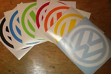 dub VW volkswagen logo car campervan golf beetle adhesive sticker decal 110mm