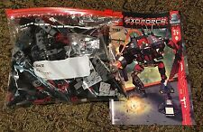 Lego Exo-Force 7702 Thunder Fury 100% complete with instructions new stickers