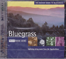 CD 21T THE ROUGH GUIDE TO BLUEGRASS LARRY SPARKS/LYNN MORRIS/H. DICKENS..NEUF