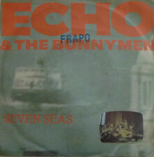"7"" 1984! ECHO & THE BUNNYMEN Seven Seas SIDE B = CV BEATLES All You Need Is Love"