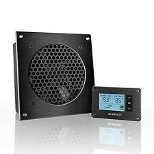 AC Infinity AIRPLATE T3, Quiet Cooling Fan System With Thermostat Control, For