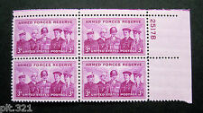 Sc # 1067 ~ Plate # Block ~ 3 cent Armed Forces Reserve Issue