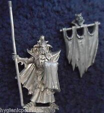 1999 Dark Elf Black Guard Of Naggarond Standard Bearer Citadel Command Banner GW