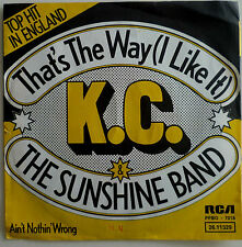 7 KC & THE SUNSHINE BAND That´s The Way I Like It MINT-