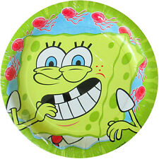 SPONGEBOB SQUAREPANTS Jellyfishing SMALL PLATES (8) ~ Birthday Party Supplies
