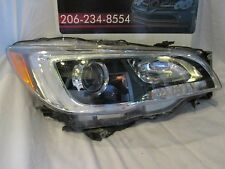 2015 SUBARU LEGACY/OUTBACK PASSENGER/RIGHT HALOGEN HEADLIGHT