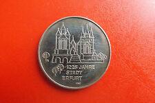 *DDR Medaille 1967 ca.40mm*1225 Jahre Stadt Erfurt