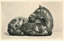 PC69752 Black Jade. A Horse. Chinese T and Dynasty. B. Matthews