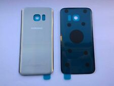 Replacement Silver Titanium Rear Back Cover Glass For Samsung Galaxy S7 SM-G930F