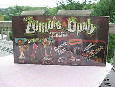 Zombie-Opoly Board Game By Late For The Sky~New & Factory Sealed!