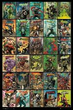 24x36 DC COMICS COVERS POSTER FOREVER EVIL Shrink Wrapped
