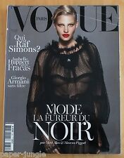 Vogue Paris ~ #930 September 2012 ~ Lara Stone Marcus Piggott Kate Moss