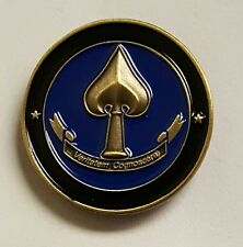 CIA NCS Nat Clandestine Serv NO TEXT Antique Brass Hat / Lapel Pin / Tie Tack