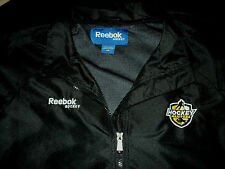 Hockey Manitoba Canada NEW Reebok Embroidered Logos Staff Jacket Sz 50 L Large