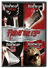 Friday The 13th Deluxe Edition Four Pack (2017, DVD NIEUW)4 DISC SET