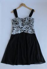 Women's JS BOUTIQUE Bodice Dress UK 12. USA 10 France 40. Worn Once