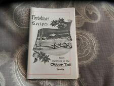 1970s otter tail power company cook book vintage Christmas recipe home service