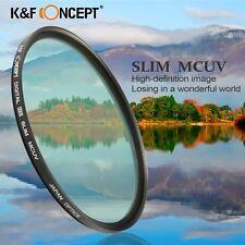 K&F 86mm Super Slim MCUV Multi Coated MC UV Filter Protector For Canon Nikon