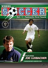 Winning Soccer: Fantastic First Touch Instructional DVD - Free Shipping