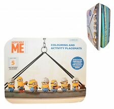 Gru, Mi Villano Favorito Minions Para Colorear Y Activity Manteles Individuales
