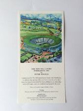 The New No. 1 Court Wimbledon 1997 by Peter Welton Leaflet