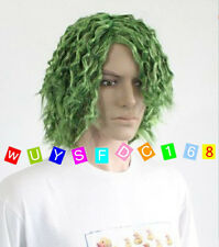 NEW men boy Short green Batman Joker Joker cosplay wig COS wigs +free wig cap