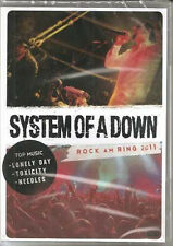DVD    SYSTEM OF A DOWN    ROCK AM RING  2011      DVD