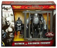 DC COMICS Multiverse Batman Arkham City Batman vs. Solomon GRUNDY Figure Set