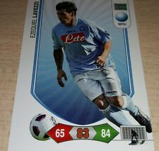 CARD ADRENALYN CALCIATORI PANINI NAPOLI LAVEZZI CALCIO FOOTBALL SOCCER