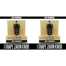 DAIWA/SLP WORKS  RCS I Shape Zion Knob - Clear-BLACK x 2pcs