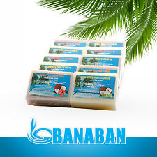 BANABAN PURE Virgin Coconut Oil Handmade Soaps 10 X 120g