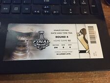 2016 PITTSBURGH PENGUINS SAN JOSE SHARKS TICKET STUB STANLEY CUP FINALS GAME 2