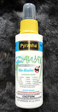 4oz Pyranha ODAWAY Odor Absorber/Eliminator Spray Dog Cat SKUNK! Smoke Non-Toxic