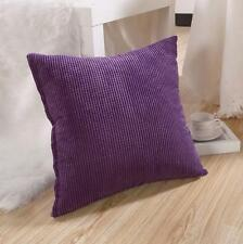 "Plain Dyed Cushion Cover 100% Percale Cotton Pillow Case 14""x14"",16""x16"" Sizes"