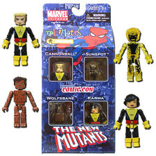 Marvel Minimates New Mutants 4-Pack 2010 New York Comic Con Exclusive