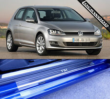 VW Golf Mk7 TSi (released approx. 2013) 2 Door Sill Protectors / Kick plates