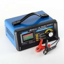 12V Slow Trickle Car Auto Electric Battery Charger Charging Unit Quick 12 Volt