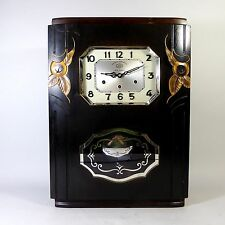 JURA Art Deco Regulator Westminster + Ave Maria Wanduhr clock wie Odo 36, 24,- 6