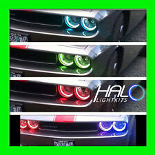 2008-2014 ORACLE DODGE CHALLENGER COLORSHIFT LED LIGHT HEADLIGHT HALO RINGS KIT