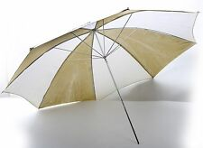 "Westcott Soft Gold/White ZEBRA 45"" Professional 45 inch large Umbrella++NICE"