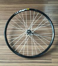 "Mountain Bike Front Wheel Disc 26"" SIGILLATO Mavic xm119 RIM Novatec Hub Bianco XC"