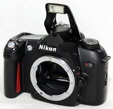 NIKON N75 BLACK F75 U2 35mm SLR Film Camera Body Only AF Auto & Manual Focus