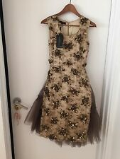 Burberry Prorsum Runway 1-of-Kind Limited Edition Gold Sequin Embellishd $10,000
