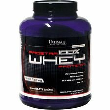 Ultimate Nutrition Prostar 100% Whey Protein 5lbs, Chocolate Creme